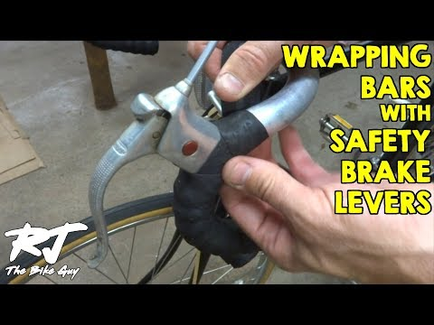How To Wrap Handlebars With Safety/Extension Brake Levers