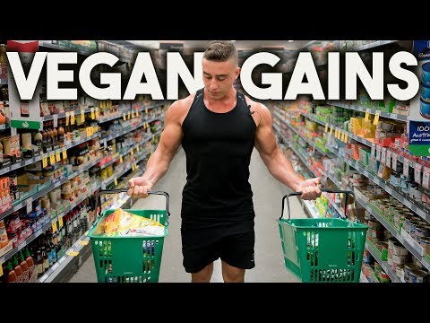 VEGAN MUSCLE GAIN | Meal Prep with Zac Perna