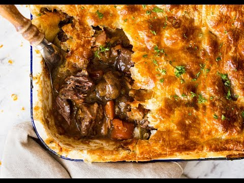Epic Beef and Mushroom Pie