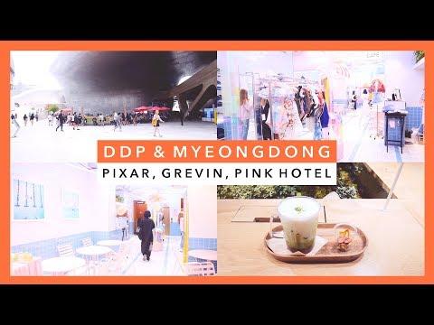 🍊  Korea Vlog | Dongdaemun & Myeongdong  🍊