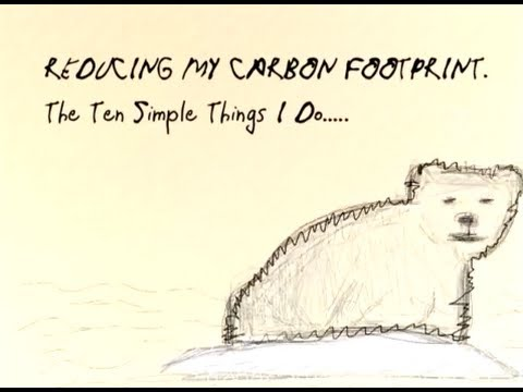 Reducing My Carbon Footprint by Marie Baer