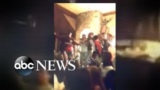 Teens allegedly break into home, throw party