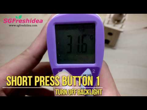 Buy Non contact Infrared Thermometer Singapore for Baby