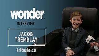 Jacob Tremblay - Wonder Interview