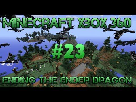 Minecraft Xbox 360 - Ending The Ender Dragon - #23 Skeleton Spawner Farming