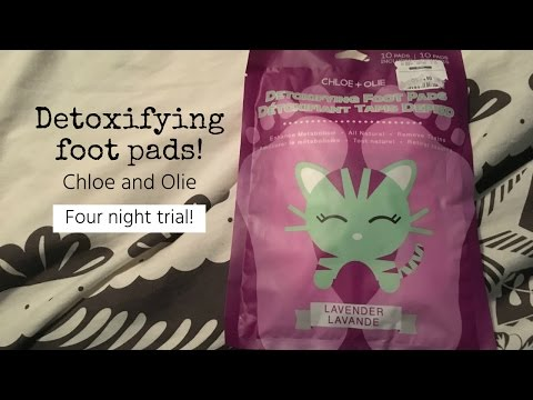 Chloe & Olie Foot Pads! ~\ Four night review!