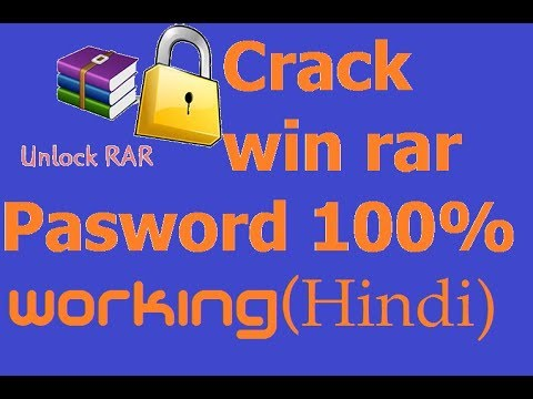 How to open password protected winRAR and zip file(100%) Proof 2018 new trick