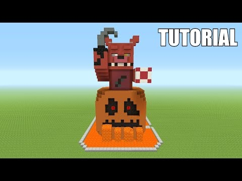 Minecraft Tutorial: How To Make A Foxy Pumpkin Surprise!
