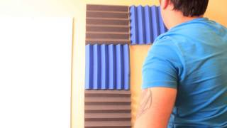 How To Setup Acoustic Foam Get Rid Of Echo And Reverb In A Room
