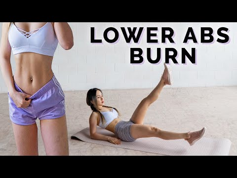 Intense Lower Abs Workout 🔥 Burn Lower Belly Fat  🤔
