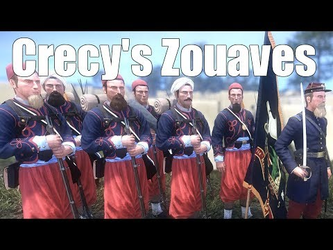 Crecy's Zouaves - War of Rights Drilling Session