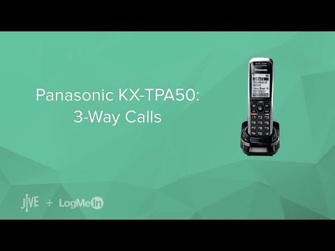 Panasonic KX-TPA50: 3-Way Calls