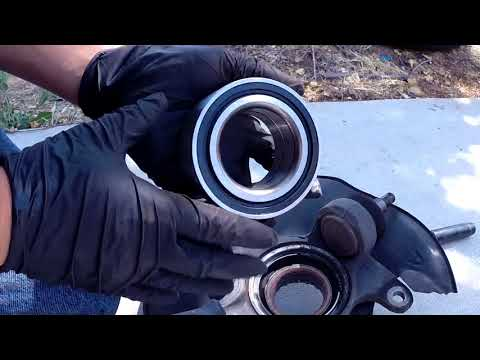 2011 Honda accord front wheel bearing replacement
