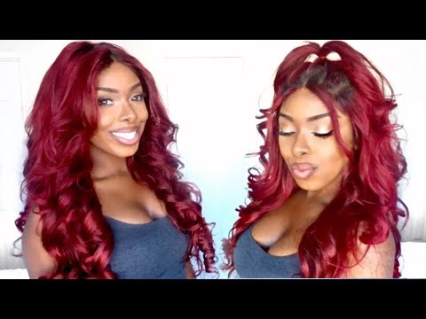 Dye Weave Red Without Bleaching | Aliexpress Recool Hair Review