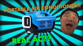 UNBOXING: Zero Breeze Portable Air Conditioner [REAL AC!!] [BATTERY  POWERED!!] - getplaypk