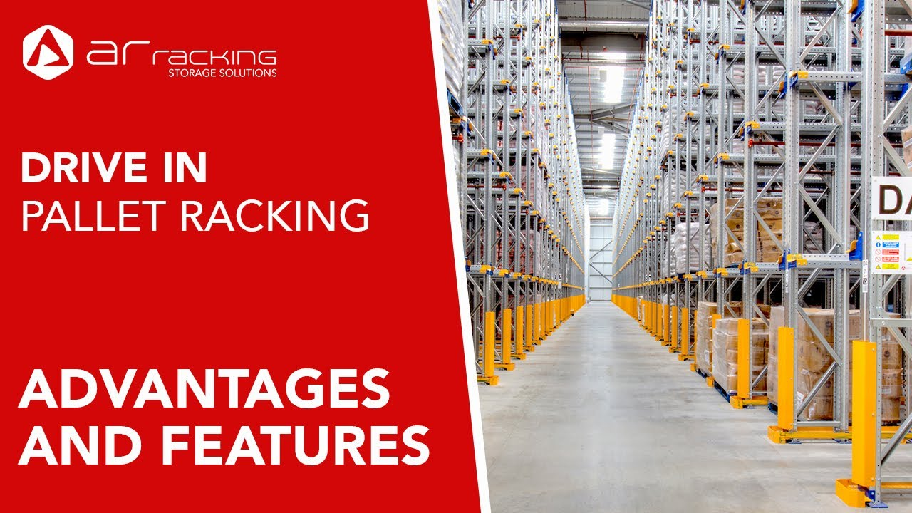 Drive in Compact Racking - Advantages and features