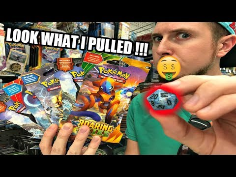 IT'S GOT GAME! FATE OF POKEMON CARD OPENING PICKED BY D20 DICE!