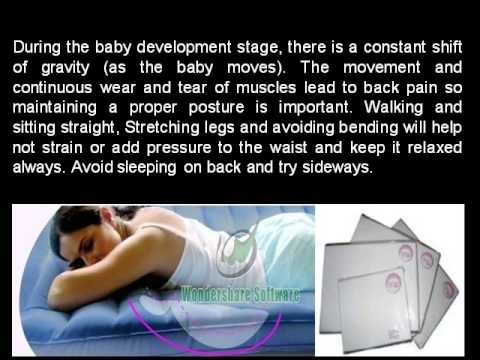 Tips To Cure And Prevent Backpain during Pregnancy