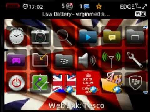 How to install themes on blackberry