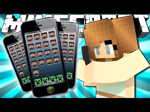 If Phones were Added to Minecraft