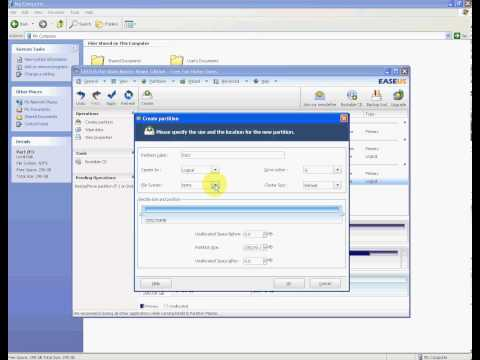 How to Partition External Hard Drive in Windows using EASEUS Partition Master