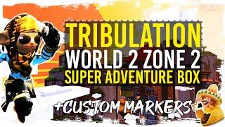 Guild Wars 2 - Super Adventure Box - Tribulation - World 2 - Zone 2   Taco Markers