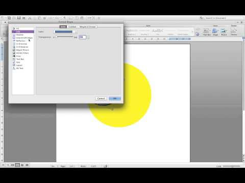 How to make clipart on Microsoft Word Mac