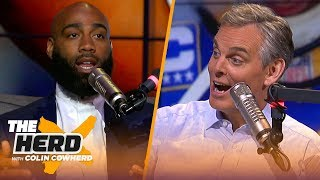 DeAngelo Hall & Colin Cowherd preview the NFL Divisional Round, talk coaching hires | NFL | THE HERD