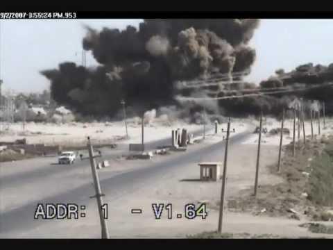 Iraq IED Massive Explosion