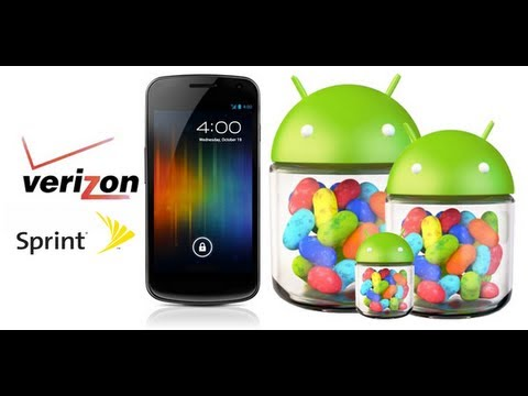 How to Install Jelly Bean on Galaxy Nexus [Verizon/Sprint] [Latest Version]