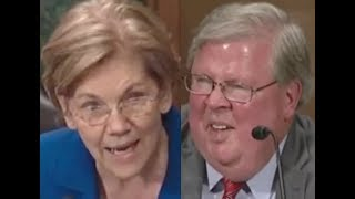 """THIS ONE REALLY TAKES THE CAKE!!!"" Elizabeth Warren GETS PISSED OFF & DESTROYS Trump Nominee"
