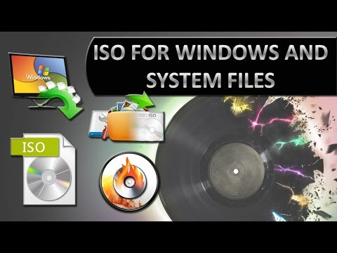 Learn to create ISO file for windows 10