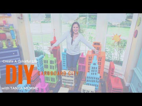 Kids Will Love Cruising Around a DIY Cardboard City