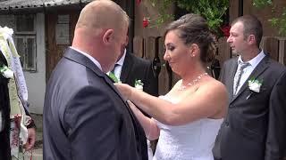 Murok Mariann és Borbély Róbert esküvője - Bóka Videó