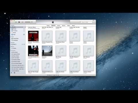How to add album artwork in itunes