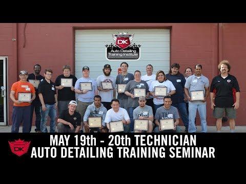 May 19th - 20th Technician Auto Detailing Training Seminar - Detail King