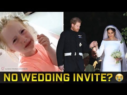 5 Year Old Girl Reacts to Not Receiving a Royal Wedding Invitation [Must Watch]