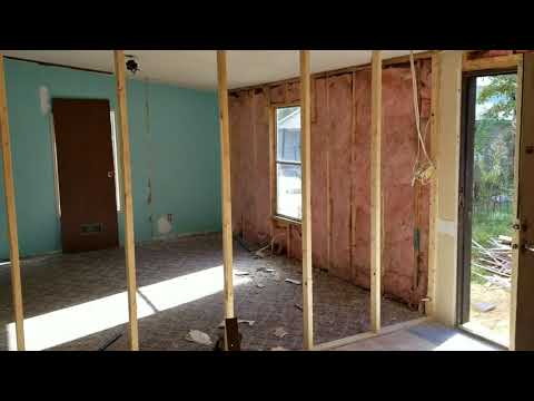 Day 3 Double Wide Renovation - Demo week