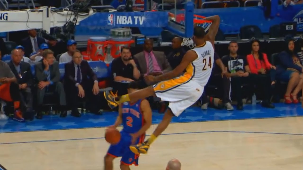 Paul George In-Game Dunk Contest Highlights