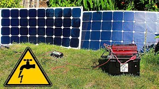 ✅Solar power plant by hand 💡 Detailed assembly instructions!