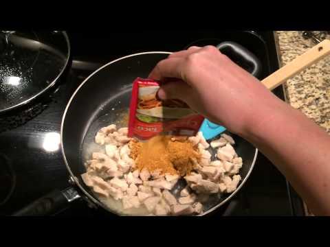 Del Taco Imitation Chicken Tacos