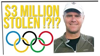 Former Olympian Stole 3 Million Dollars?! ft. DavidSoComedy