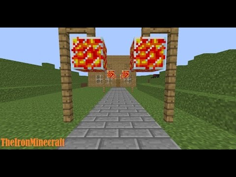 ✔Minecraft pc how to make a Lava Lamps✔