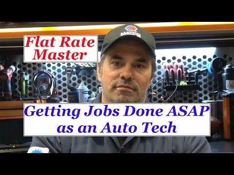 Getting Jobs Done ASAP as an Auto Tech!