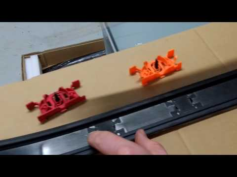 How to fit Roof Rack / Rails to Range Rover L405