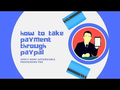 how to take payment through paypal