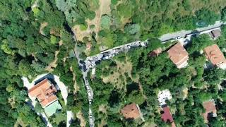 Adnan Oktar'ın Vaniköy'deki Lüks Villası Havadan Görüntülendi