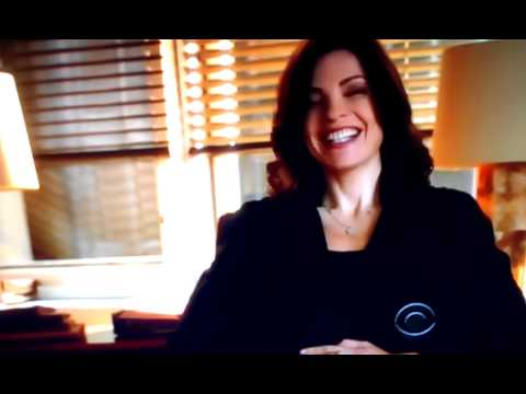 Julianna Margulies from the good wife laughing