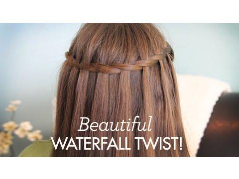 Beautiful Waterfall Twist | Cute Girls Hairstyles