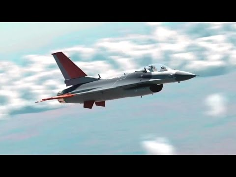 Drone QF-16 Latihan Target